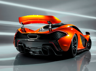 auto innovations 600 kg d appui sur l aileron actif de la mclaren p1. Black Bedroom Furniture Sets. Home Design Ideas