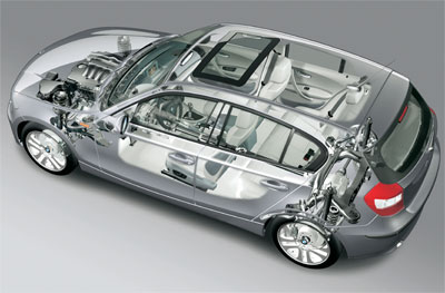 auto innovations bmw s rie 1 une propulsion s 39 attaque aux tractions. Black Bedroom Furniture Sets. Home Design Ideas